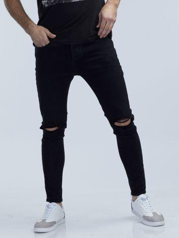 MARTIN סקיני ג'ינס קרעים בברכיים