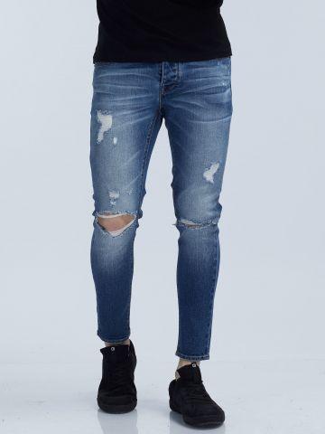 MARTIN ג'ינס סקיני משופשף