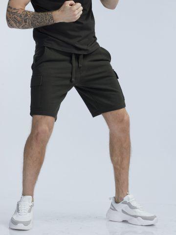 מכנסי דגמח קרגו