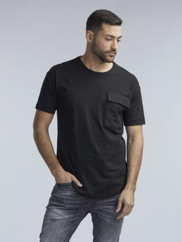 חולצת טי עם כיס
