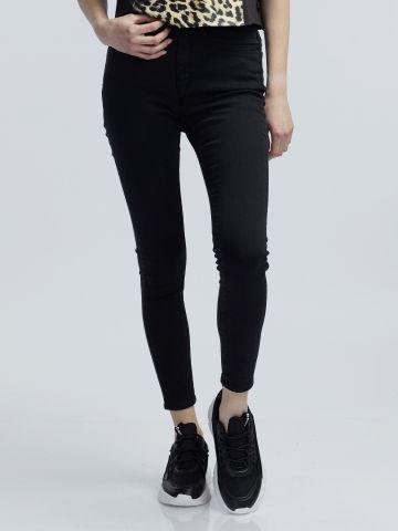 LOLA ג'ינס סקיני גבוה שחור