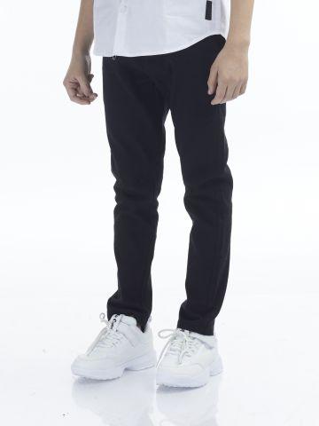 מכנסי ספורט אלגנט עם כיסים