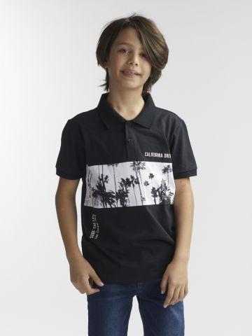 חולצת פולו דקלים