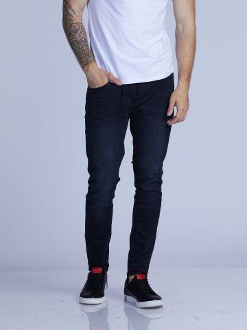 ג'ינס סקיני כחול שחור