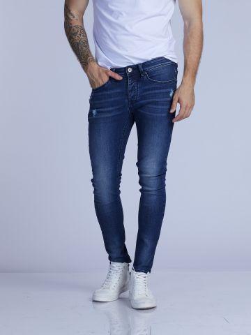 MARTIN ג'ינס משופשף בגזרה הדוקה