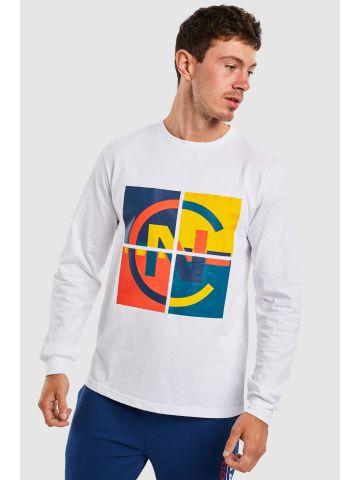 חולצת טי בייסיק צבעונית