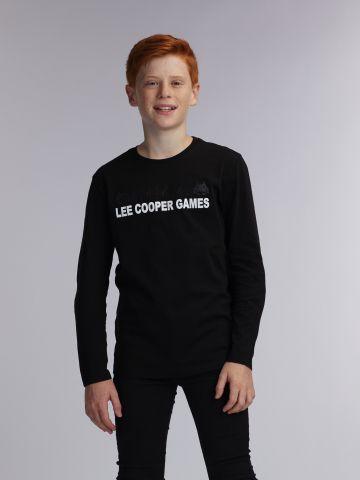 טי שירט ארוכה הדפס LC_GAMES