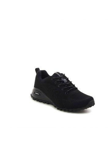 נעלי ספורט משוננות במראה סרוג