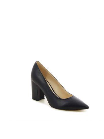 נעלי עקב צ'אנקי מחודדות לנשים CARA