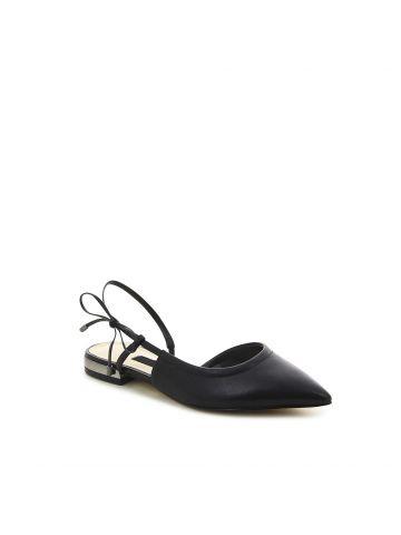 ROSA נעלי שפיץ עם סרט צידי