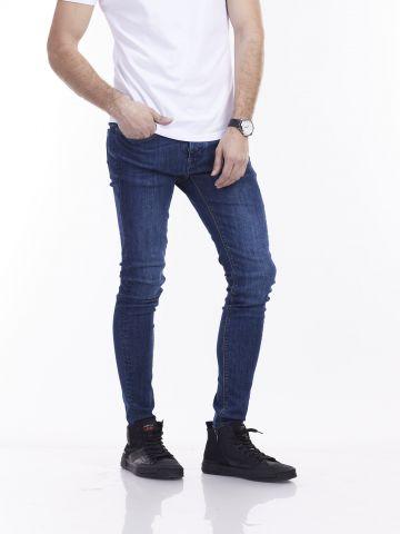 ג'ינס כחול סלים LAD