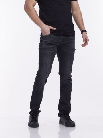 ג'ינס אפור ROOK סקיני