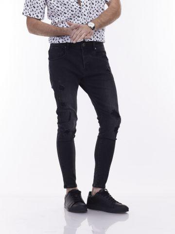 ג'ינס שחור BLACK COLIN