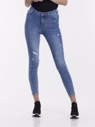 סקיני ג'ינס סטרצ'י עם קרע