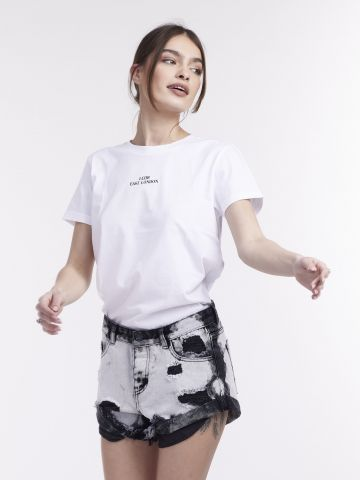 חולצת טי שרוולים קצרים