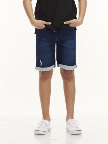 ברמודה ג'ינס ג'וג כחולים