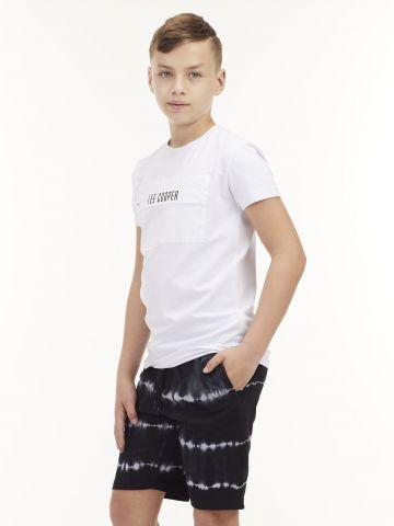 חולצת טי עם רוכסן קדמי