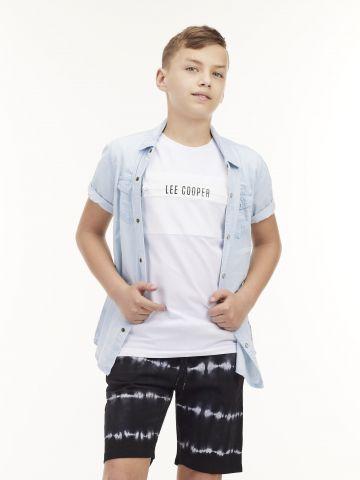 חולצת ג'ינס חתיכית