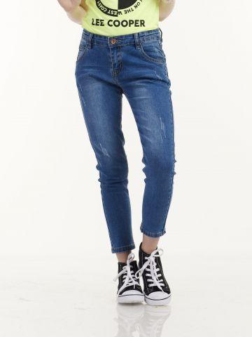 ג'ינס כחול אופנתי