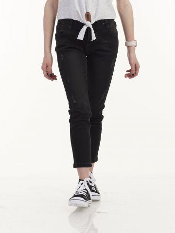 ג'ינס שחור סטרצ'י