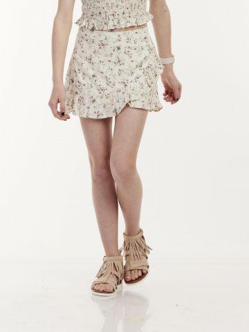 חצאית פרחים מושלמת