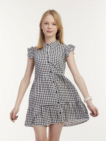 שמלת משבצות