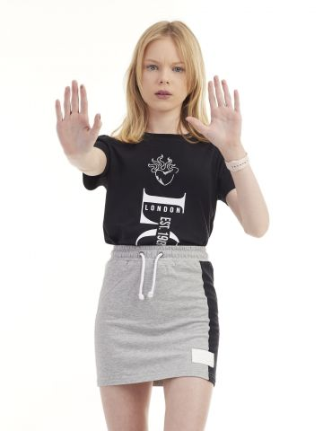 חולצת טי שירט דפוס הולגרמה