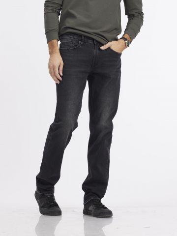ג'ינס JAMES שחור קלאסי