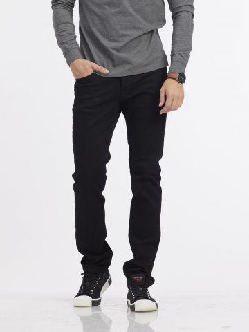 ג'ינס ROOK שחור סקיני