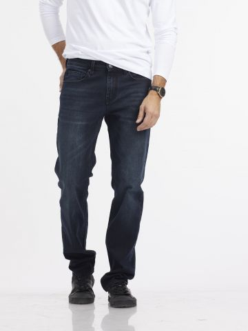 ג'ינס JAMES כחול שחור