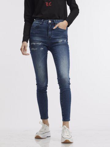 ג'ינס סקיני במראה יוזד