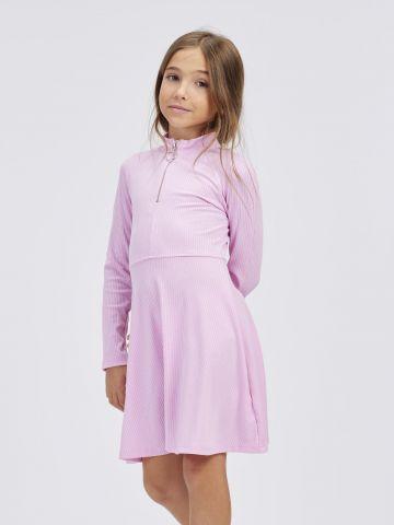 שמלת ריב עם רוכסן קדמי