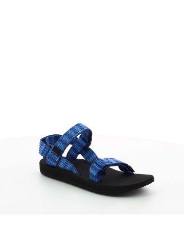 סנדלי שורש כחולים עם מעויינים