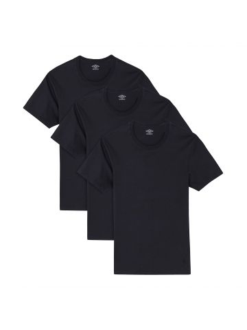 מארז 3 חולצות UMBRO לגברים צווארון עגול