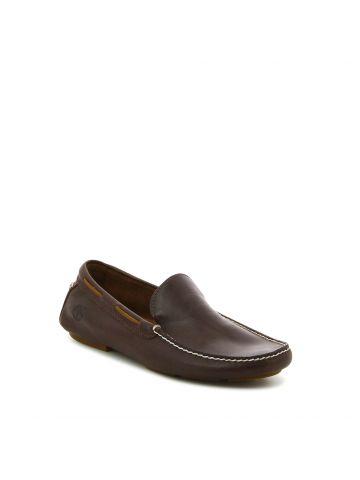 נעלי מוקסין קלאסיות חומות
