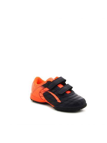 נעלי קט רגל שחור כתום