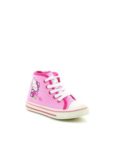 נעלי סניקרס גבוהות הלו קיטי