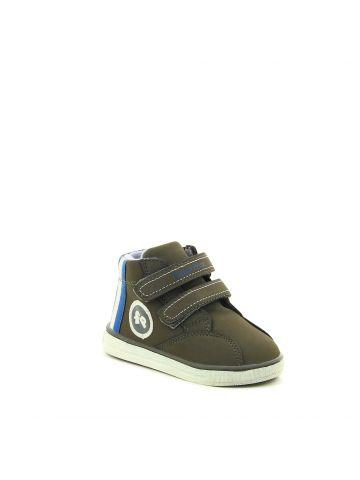 נעליים גבוהות בצבע אפור