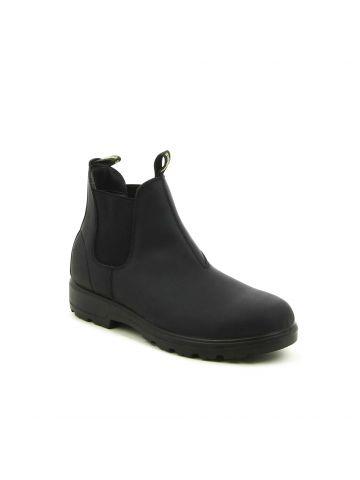 נעליים גבוהות שחורות