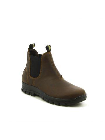 נעלי הליכה גבוהות חומות