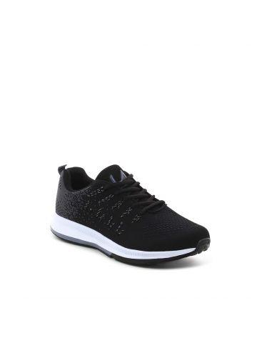 נעלי ספורט לגברים בצבע שחור