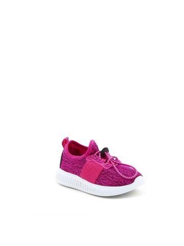 נעלי הליכה פוקסיה במראה סרוג