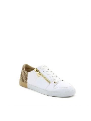 נעלי סניקרס מדליקות לבן בז'