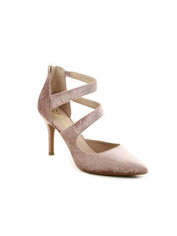 נעלי עקב אלגנטיות עם רצועות
