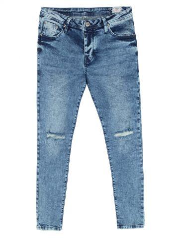 MARTIN ג'ינס משופשף עם קרעים
