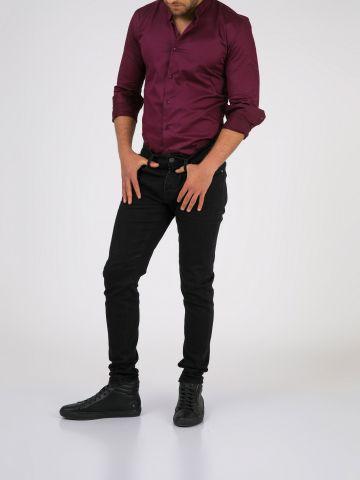 ROOK סלים ג'ינס שחור