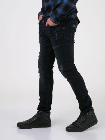 MARTIN סקיני ג'ינס קרעים סגורים