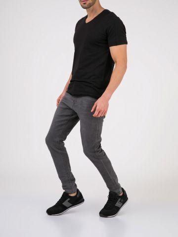 MARTIN ג'ינס סקיני אפור