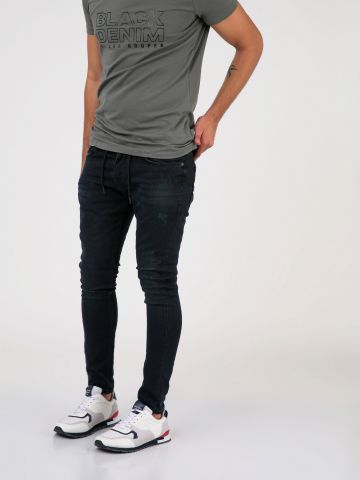 MARTIN_JOGG סקיני ג'ינס שרוך