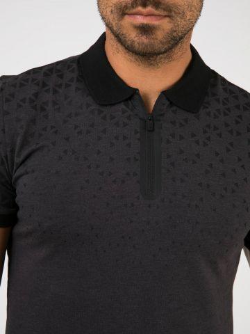חולצת פולו משולשים